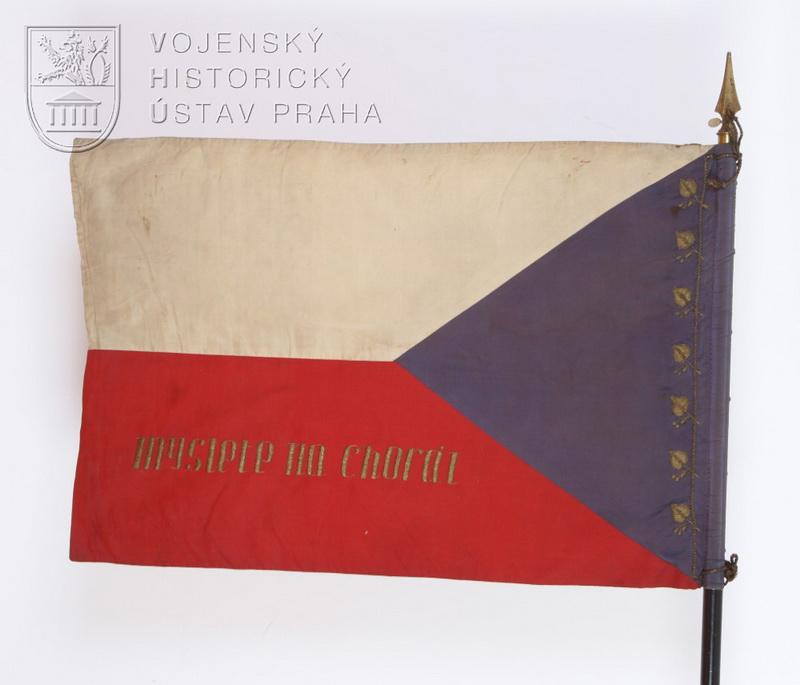 Prapor 1. transportu čs. dobrovolníků z Velké Británie, 1940