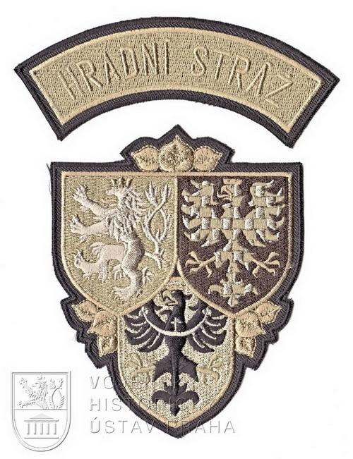 Rukávový znak Hradní stráže, 2018