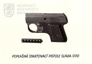 Startovací pistole UB 70 (Slavia 070)