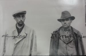 Dva ze zajatých maďarských teroristů v říjnu 1938
