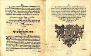 Závěr hlavní části knihy a kapitola o obléhání pevnosti.