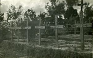 Hroby padlých Svátkových vojáků v Užhorodě již dnes nenajdeme.