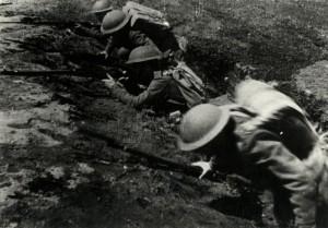 Příslušníci čs. jednotky v Buzuluku při výcviku, rok 1942