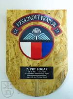 Pamětní deska 7. kontingentu AČR mise ISAF PRT Lógar