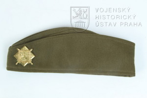 Polní čepice generála, Československo, 30. léta