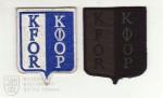 Rukávové znaky jednotek KFOR, Kosovo 1999–2011