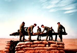 Českoslovenští vojáci při bojích v Zálivu
