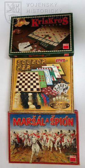 Stolní hry od PRT Lógar