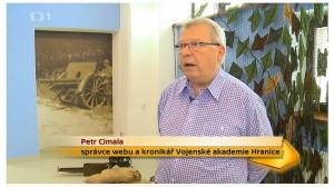 Reportáž o posádkovém muzeu v Hranicích v pořadu České televize Toulavá kamera