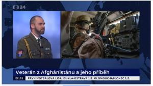 Kpt. Pavel Stehlík z Vojenského historického ústavu Praha v pořadu Události a komentáře na ČT 24