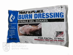 Water Jel, popáleninový obvaz na obličej