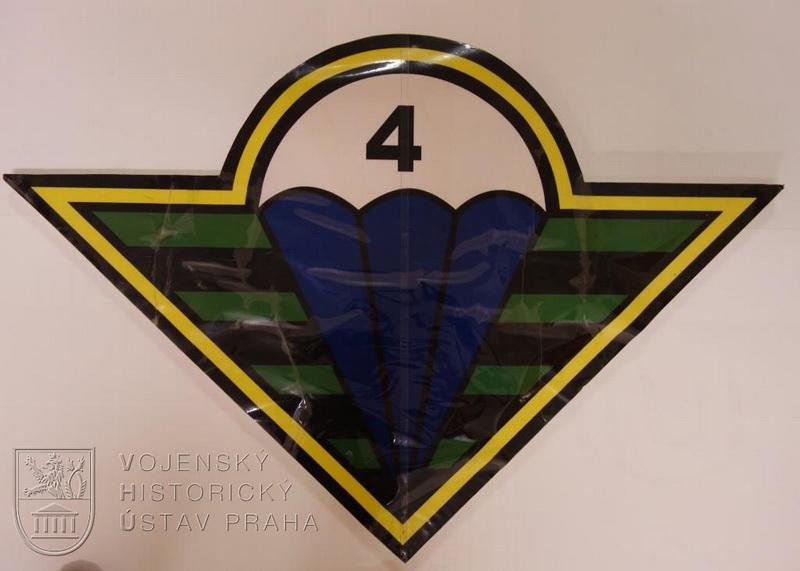 """Znak 4. brigády rychlého nasazení – """"Obrany národa"""" ze základny FOB Shank"""
