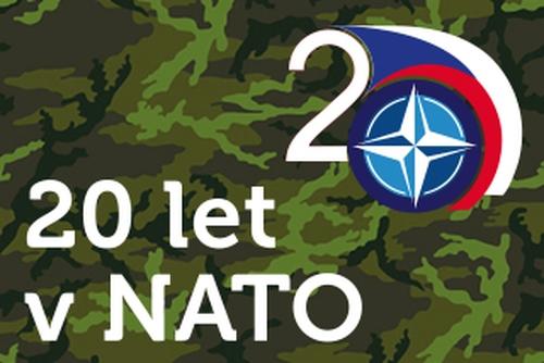Výročí 20 let České republiky v NATO