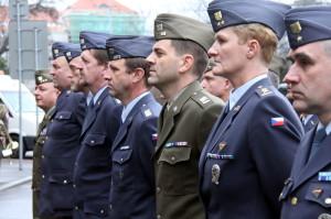 Výstava 20 let České republiky v NATO, zahájení