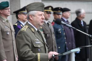 1. zástupce náčelníka GŠ AČR generálmajor Jaromír Zůna