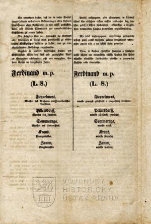 Dubnová ústava, 1848