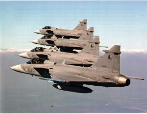 Od roku 2005 se hlavní údernou silou vzdušných sil stal víceúčelový bojový letoun JAS-39 Gripen.