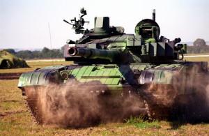 Výzbroj tankového praporu AČR tvoří modernizovaný typ T-72M4CZ