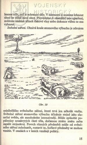 Ilustrace v kapitole ochrany před jaderným výbuchem.