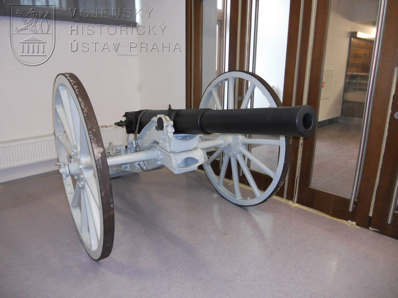 Německý 75mm polní kanon Krupp Model 1886