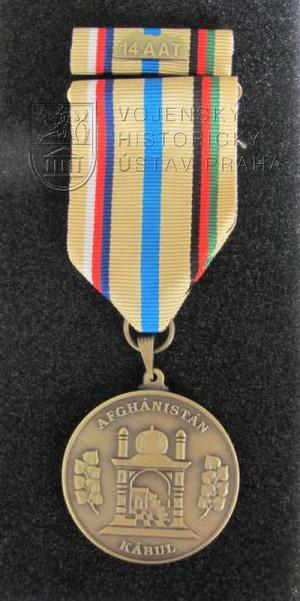 Pamětní medaile 14. jednotky Leteckého poradního týmu, operace Resolute Support, Afghánistán