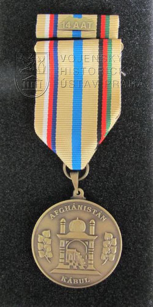 Pamětní medaile 14. jednotky Leteckého poradního týmu