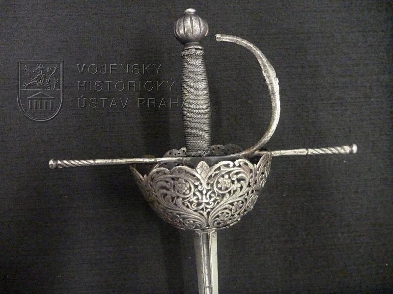 Rapír se zvoncovým košem, Španělsko, kolem 1650