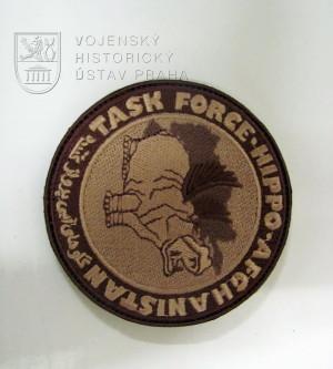 Rukávové označení jednotky Task Force Hippo z operace ISAF