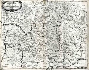 Mapa regionu Franky.