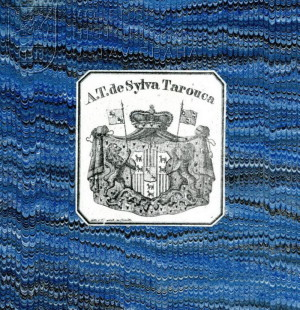 Štítkové heraldické exlibris A. T. de Sylva Tarouca.