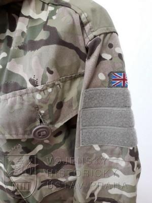 Bunda v potisku MTP, Velká Británie, 2012