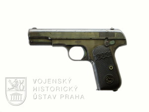 Americká pistole Colt Pocket Model 1903 – 1. varianta