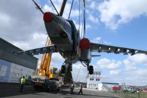 Zrenovovaný bitevník Su-25 najdete od 4. května v hangáru Staré Aerovky