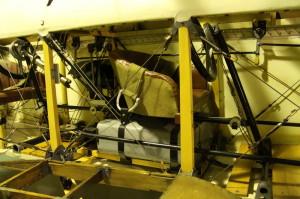 Bohemia B-5 vystavená v hangáru LM Kbely