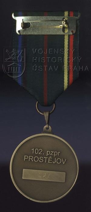 Pamětní odznak 15. výročí založení 102. průzkumného praporu