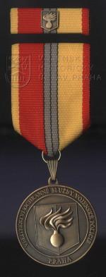Pamětní odznak Velitelství ochranné služby Vojenské policie Praha