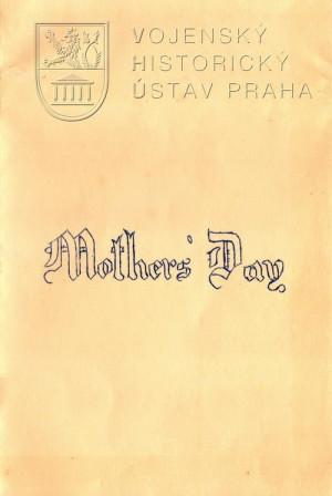 Přání ke Dni matek, 1941