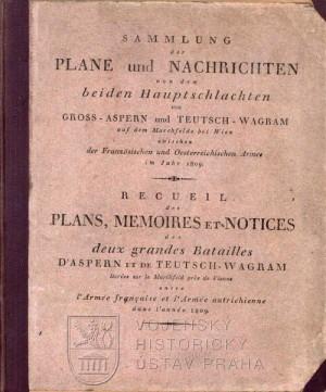 Přední desky knihy s nalepeným titulním listem.