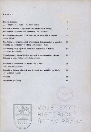 Obsah publikace.