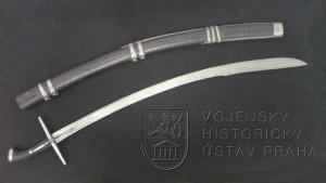 Uherská husarská šavle, kolem 1700