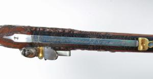 Signatura puškaře Christiana Koerbera na hlavni. FOTO: VHÚ