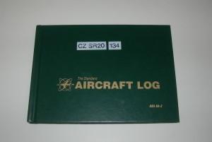 Deník vrtulníku SR 20 trupového čísla 134.  FOTO: J. Sýkora