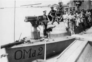 Československý dělový člun OMd 2 a jeho posádka na Dunaji, meziválečné období