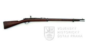 Puška Berdan II v ráži 7,62 mm Mosin