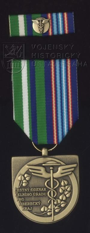 Čestný odznak Celního úřadu pro Liberecký kraj – 1. stupeň