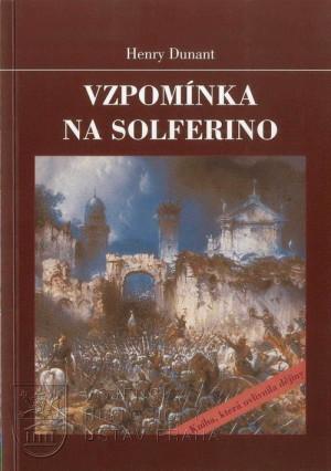 Obálka knihy s výřezem z dobového obrazu bitvy u Solferina.
