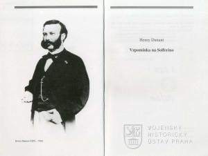 Titulní list a frontispis knihy s fotografií autora.