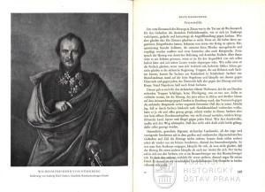 Portrét hannoverského generálporučíka Wilhelma von Dörnberga, dříve příslušníka brunšvického Černého sboru a text věnující se prvním bojům jednotky v Čechách.