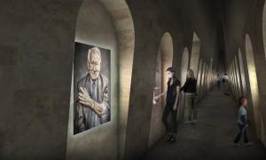 Vizualizace Síně hlasů. FOTO: PR