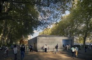 Vchod do podzemního vzdělávacího centra. FOTO: National Holocaust Memorial